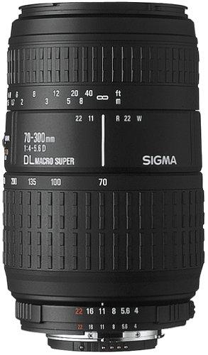 Sigma 70-300mm f/4-5.6 APO Macro Super Lens for Nikon SLR Cameras