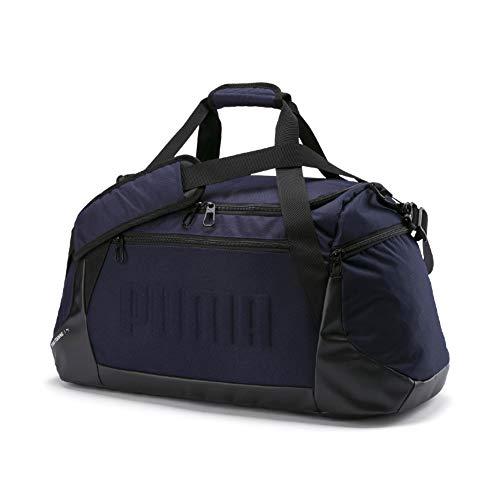 PUMA Gym Duffle Bag M Bolsa Deporte, Adultos Unisex, Peacoat, OSFA