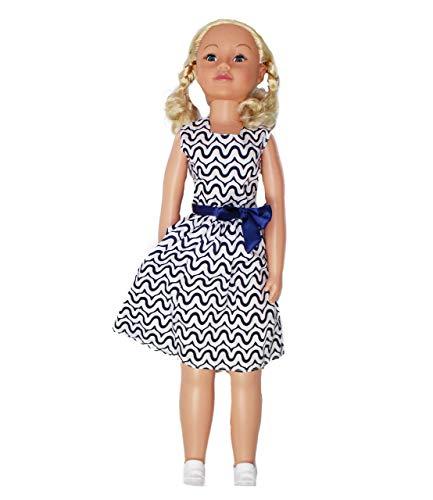 Uneeda 32' Life-Size Wispy Walker Doll, Blue Bow