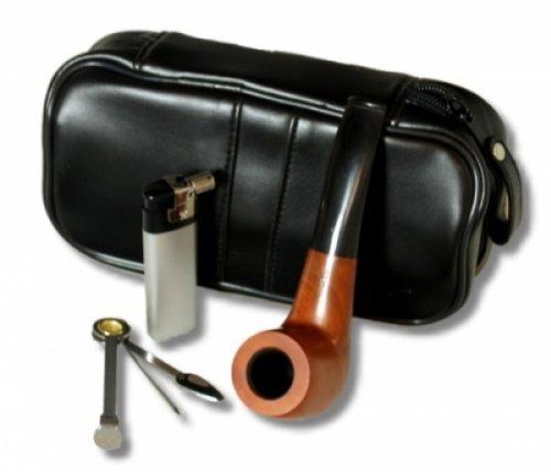 Lifestyle-Ambiente Pfeifen-Einsteiger-Set inkl. Feuerzeug 10tlg Angelo Pfeifenset