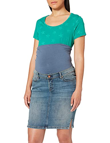 Noppies Jeans Skirt OTB Misty Blue Gonna, Blu C321, 38 (Taglia Produttore: 26) Donna