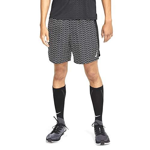 Nike Intersport Herren Challenger Run Division Shorts, Black/White, XL