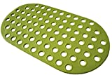 ALL PRIDE Green Anti-slip Bath And Shower Mat Mildew Mould Resistant Bathtub Mat
