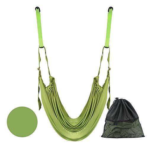 Wlqeri Yoga aéreo con un Caballo, Cadera Abierta, Prensa de piernas, Cuerda elástica, Parada de Manos, Cintura Baja, Entrenador de tensión, Productos de Fitness