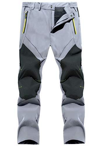 MAGCOMSEN Hiking Pants Mens Summer Pants Cargo Pants Lightweight Mens Travel Pants Spring Pants Zipper Pockets Waterproof Pants for Men
