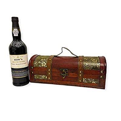 Dow's Master Blend Finest Reserve Port 75cl Presented in a Oriental Style Wooden Box