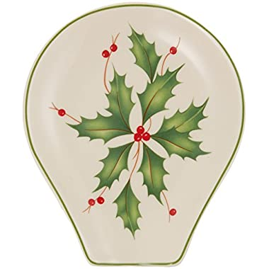 Lenox Holly Spoon Rest
