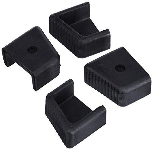 Gierre D4003 - Recambios tacos para escalera, color negro