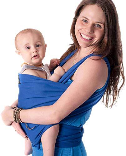 CuddleBug Fascia Porta Bebé per Neonati e Bimbi fino a 16 kg – Fascia Neonato per Trasporto a Mani Libere – Marsupio Bambino a Fascia –...