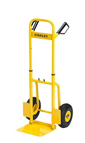 Stanley SXWTD-FT520 120 kg Steel Folding Hand Truck - Yellow