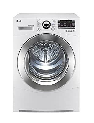 LG rc7055ah2m Freestanding Front-Load 7kg A + + White–Tumble Dryer (Freestanding, Front Loading, Condensation, White, Buttons, Rotary, Stainless Steel)