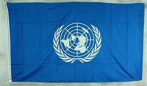 Flagge Fahne ca. 90x150 cm : UNO Vereinte Nationen