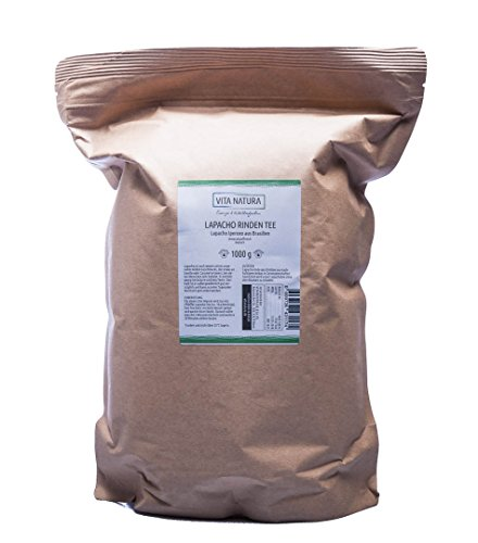 VITA NATURA Lapacho Rinden Tee - aus innerer Rinde - Brasilien - Tabebui impetiginosa - 100{32324c0ad4f68b29d3f6e39aa137824ce7bd2e686c7d453eee3f37081735fecc} vegan und nachhaltig - in 1000 g Packung erhältlich