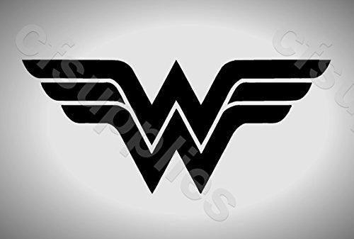 A3 de gran tamaño de la plantilla Marvel - nuevo Logo Wonder Woman * 190 micras reutilizable * Mylar más gruesas
