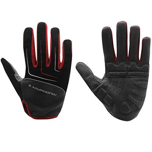 Muddyfox MTB Cycling Gloves Black/Grey/Red XL