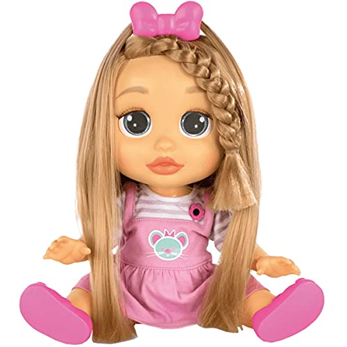 Boneca Baby Wow Mia Cresce Cabelo, Multilaser, Multikids - BR543