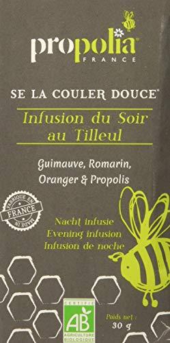Propolia - BIO - Infusion du Soir au Tilleul Guimauve/Romarin/Oranger/Propolis 20 Sachets