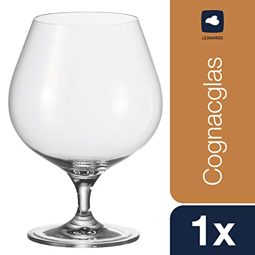 Leonardo Cheers - Copas Snifter para el Hogar de Cristal Transparente