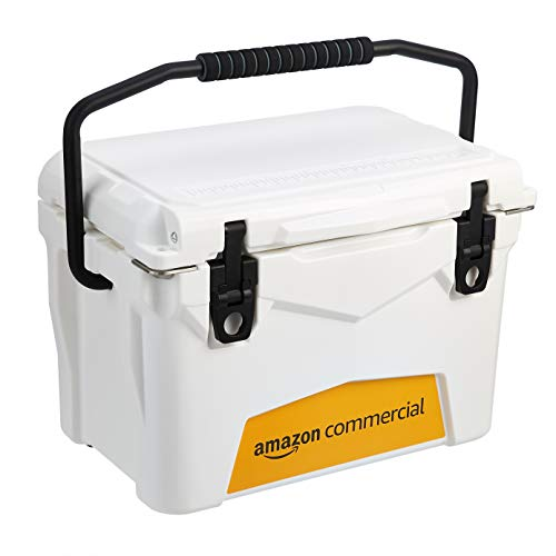 AmazonCommercial Rotomolded Cooler, 20 Quart, White