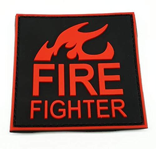 polizeimemesshop Fire Fighter Rubber Patch Feuerwehr