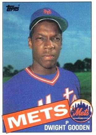 Amazoncom 1985 Topps Baseball 620 Dwight Gooden Rookie
