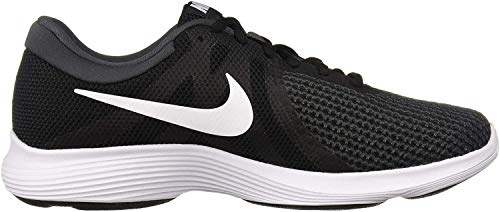 Nike Men's Revolution 4 Running Shoe, Black/White-Anthracite, 10 Regular US