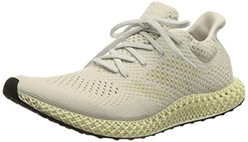 adidas Herren 4D FUTURECRAFT Laufschuh, Crystal White Chalk White Core Unlit, 40 EU thumbnail