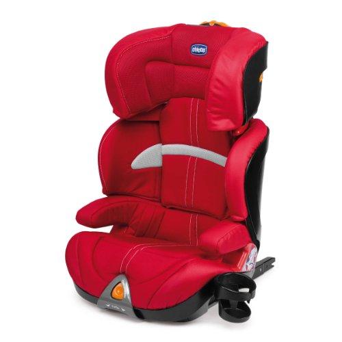 Chicco Oasys 2-3 FixPlus - Silla de coche, color rojo