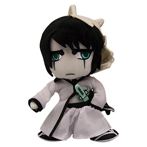 """Great Eastern GE-8979 Animation Official Bleach 8"""" Plush Doll, Ulquiorra"""