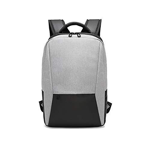 LEYOUDIAN Bb 2019 sommer rucksack herren rucksack tasche college style einfache lässige mode trend männliche computer tasche (Color : Gray, Size : 28 * 42cm)