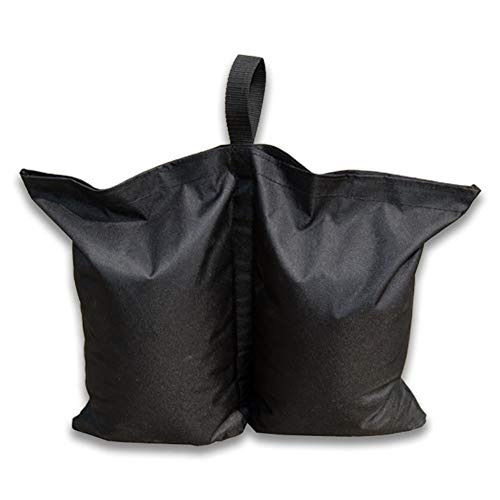Elibeauty 4 Pcs Sand Weight Bags, Anti-tear Windproof Sandbags for Marquee Canopy Gazebo Tent