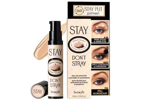 Benefit Stay Don't Stray (Stay Put Primer For Concealers & Eyeshadows) 10Ml/0.33Oz