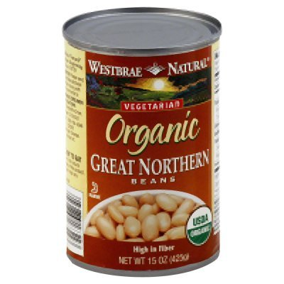 Westbrae Foods Fort Worth Mall Max 54% OFF Great Northern Beans of Oz Pack 15 12