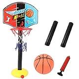 Baloncesto Soporte De Bola Juego De Niños Altura Ajustable del Estante del Aro De Baloncesto Bola De Juego De La Familia Al Aire Libre De Interior