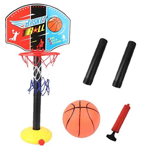 DierCosy Ständer Basketball Kinder Ballspiel Höhenverstellbarer Basketballkorb Ballständer Für Familienspiel Indoor Outdoor