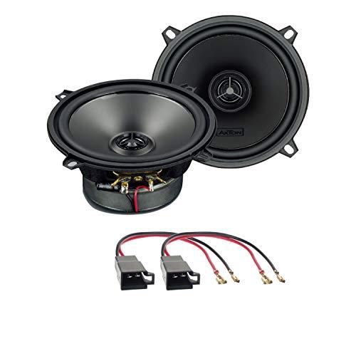 Lautsprecher Einbauset kompatibel mit Dacia Sandero 2008-2011 Tür vorne oder hinten Axton ATX130 Lautsprecher Koaxial 4 Ohm 13 cm