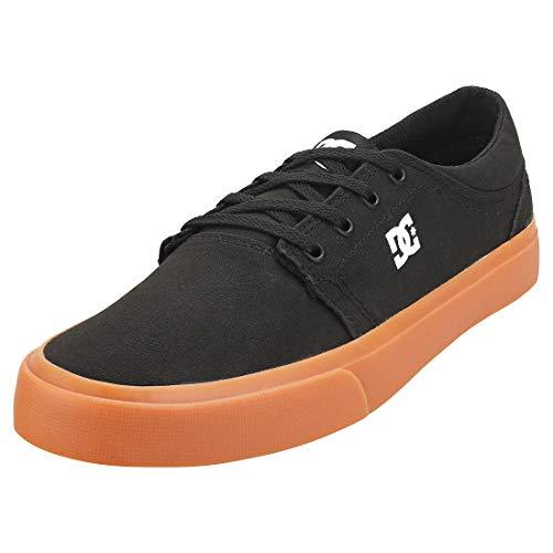 DC Shoes Trase TX, Zapatillas Hombre, Black/Gum, 42.5 EU