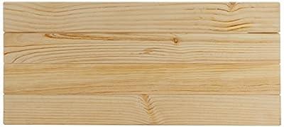 Cabecero de madera para cama individual de 90 cm Anchura: 100 cm Altura: 44 cm Acabado: Pulido