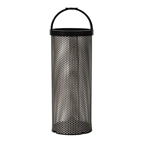 """Groco BS-1 Replacement Stainless Steel Strainer Basket - 1.9"""" x 5.2"""""""