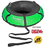 Bradley Giant Multi-Rider Snow Tube with 60' Cover | Heavy Duty Snow Tube | Truck Tube