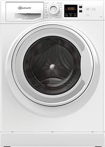 Bauknecht BPW 814 Waschmaschine Frontlader/ 8kg/ kraftvolle Fleckenentfernung/Clean Plus/Kurz 30 / Anti-Allergie Plus/Mengenautomatik/Option Extra Touch