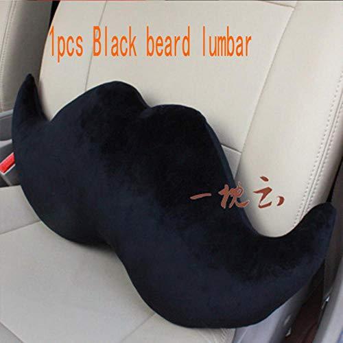 Auto Labbra Rosse Barba poggiatesta Collo Cuscino Lombare per Toyota Corolla Avensis RAV4 Yaris Auris Hilux Prius Verso MG 3 Buick, Barba Lombare