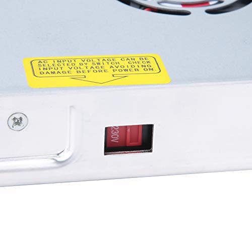 Weikeya Fuente de alimentación del Interruptor, Manteneador de batería Adecuado 400 W Metal y componentes ± 0.5V