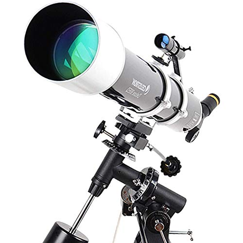 Best Price KANJJ-YU High Clarity, Focal Length 910Mm, Refractor Telescope with Tripod & Finder Sco...