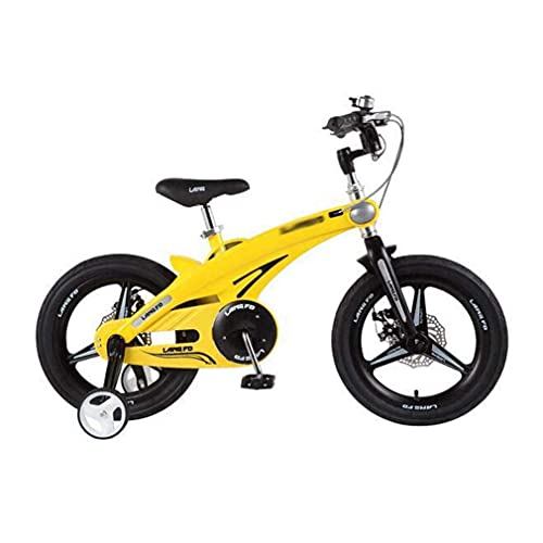 HUAQINEI La Nueva Bicicleta para niños de una Sola Rueda mium aleación Triciclo para niños 16 Pulgadas 14 Pulgadas 12 Pulgadas Bicicleta para niños, Azul, 12 Pulgadas