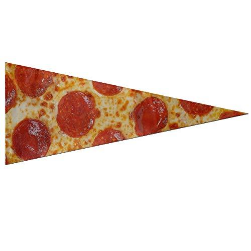 JOCHUAN Yard Flag Banner Fresh Italian Classic Original Pepperoni Pizza Bac Decoration Flag Classic 12 X 30 Inch Suave y Duradero para Exteriores e Interiores Cute Yard Flag