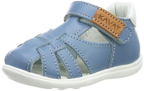 Kavat Unisex-Kinder Rullsand Geschlossene Sandalen, Blau (Blue Heaven 947), 23 EU