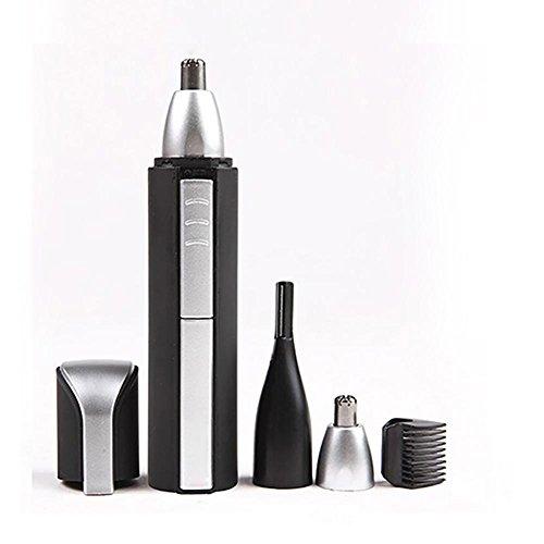 Nose Hair Trimmer, Men & Women Best Rechargeable Quiet Hair Clippers Kit d'élimination sans fil pour le nez / l'oreille / la barbe / Sideburn / Eyebro