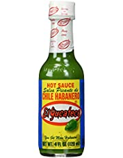 El Yucateco Green Chile Habanero Sauce, 4 oz.