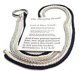 Divinity Braid Cord of Three Strands Silver Navy Theme #Wedding #CordOfThreeStrands #Divin...